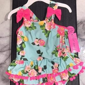 Betsey Johnson Girl's Youth Size 5 One-Piece NWT